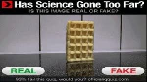 Watch and share Has Science Gone Too Far Waffle GIFs on Gfycat