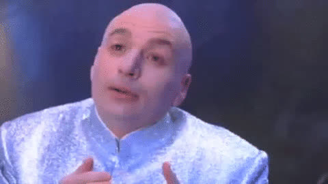 Mike Myers, bromance, lol, love, Dr. Evil GIFs