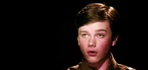 Watch and share Chris Colfer GIFs and Hairflip GIFs by Reactions on Gfycat