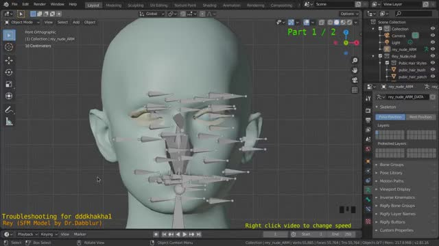 Watch and share Blender - Fixing SFM Eyelid Weights Part 1 GIFs on Gfycat