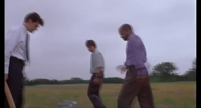 Watch and share Office Space Printer Destruction GIFs on Gfycat