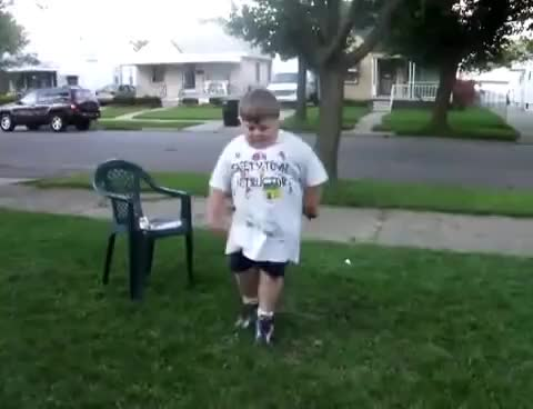 Watch chubby kid vs skiny kid dance off.. GIF on Gfycat. Discover more related GIFs on Gfycat