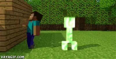 Watch and share Minecraft GIFs and Creeper GIFs on Gfycat