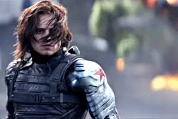 Watch and share Captain America Winter Soldier GIFs and Sebastian Stan GIFs on Gfycat
