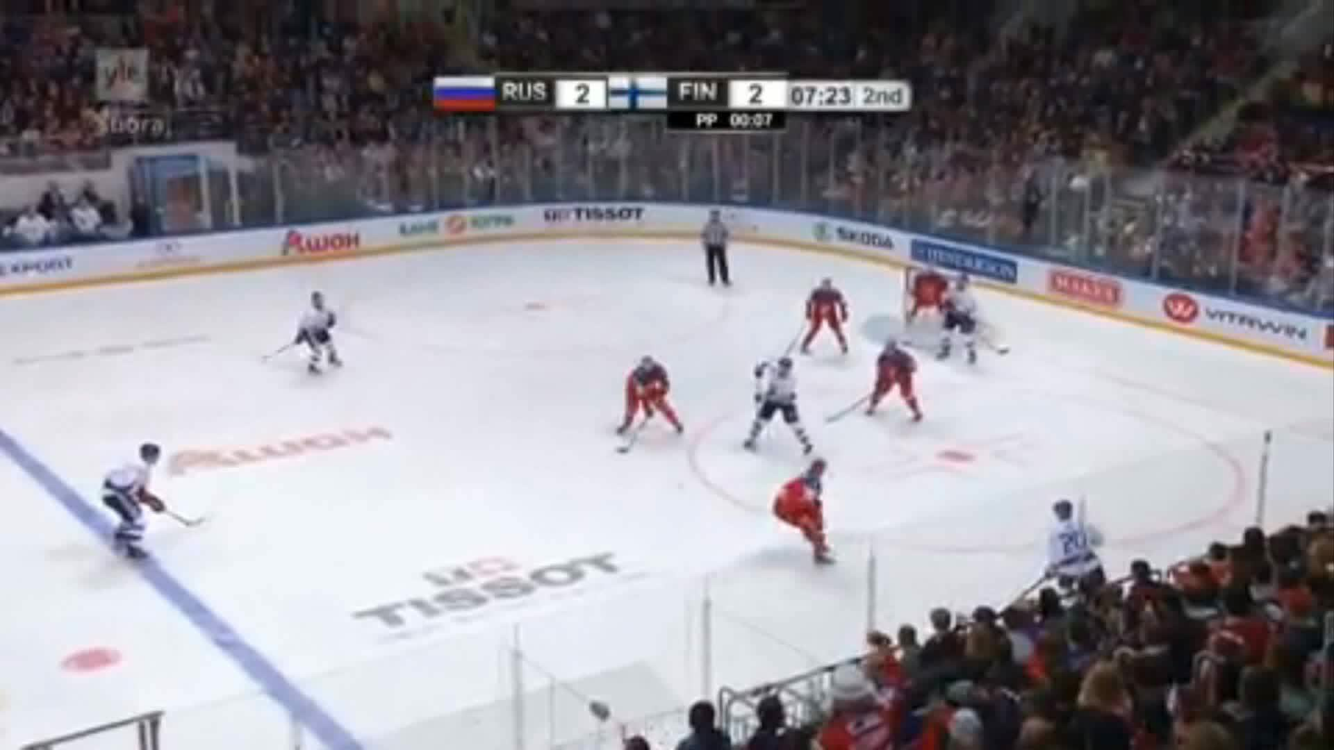 Hockey, hockey, imagesofrussia, EHT Russia-Finland 2-3 Pulkkinen GIFs