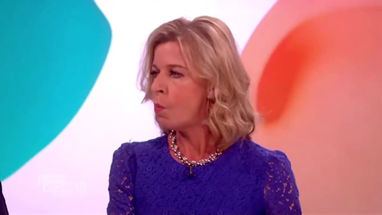 Katie Hopkins Upsets Coleen Nolan | Loose Women GIF | Find, Make ...
