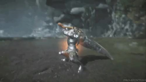 Watch and share Monster Hunter GIFs and Great Sword GIFs on Gfycat