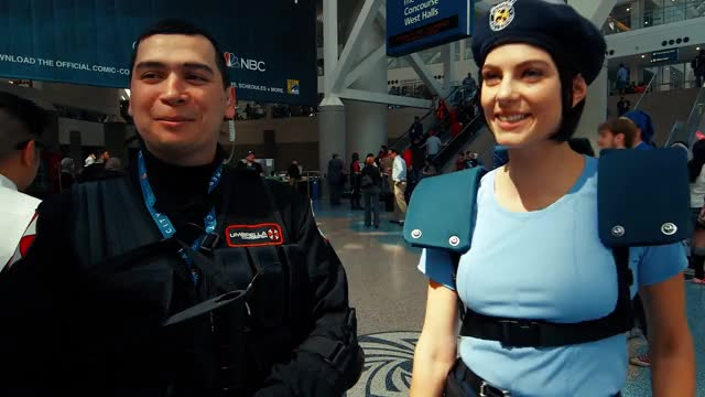 Watch and share Jill Valentine GIFs and Wondercon 2016 GIFs on Gfycat