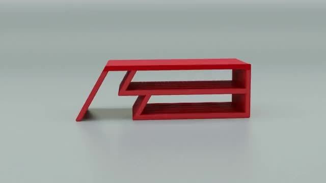 Watch and share Red Sketch Model Rotate GIFs by amiibler on Gfycat
