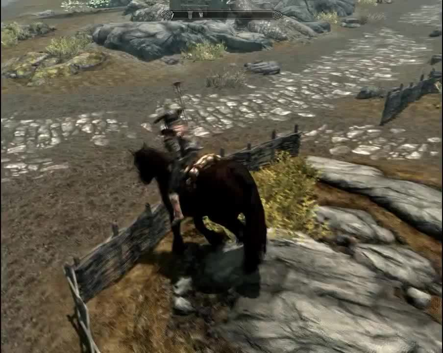 So I Just Bought My First Horse In Skyrim.