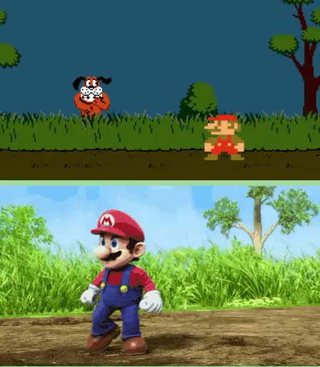 Watch and share Smash Bros GIFs and Duck Hunt GIFs on Gfycat