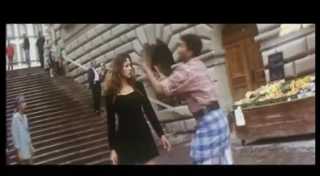 Watch and share Ennoda Laila/Badri Video Song GIFs on Gfycat