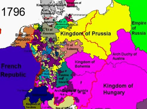 Watch and share Political Borders Of Germany From 1789 To 2005 GIFs on Gfycat