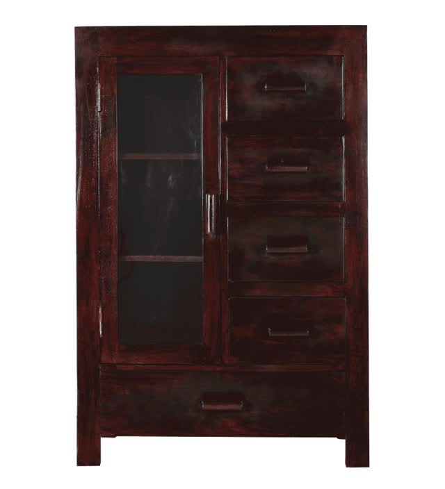 Watch and share Basil Crockery Cabinet With A Glass Door GIFs on Gfycat