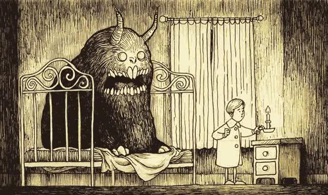 Watch and share Creepy Art By John Kenn Mortensen GIFs on Gfycat