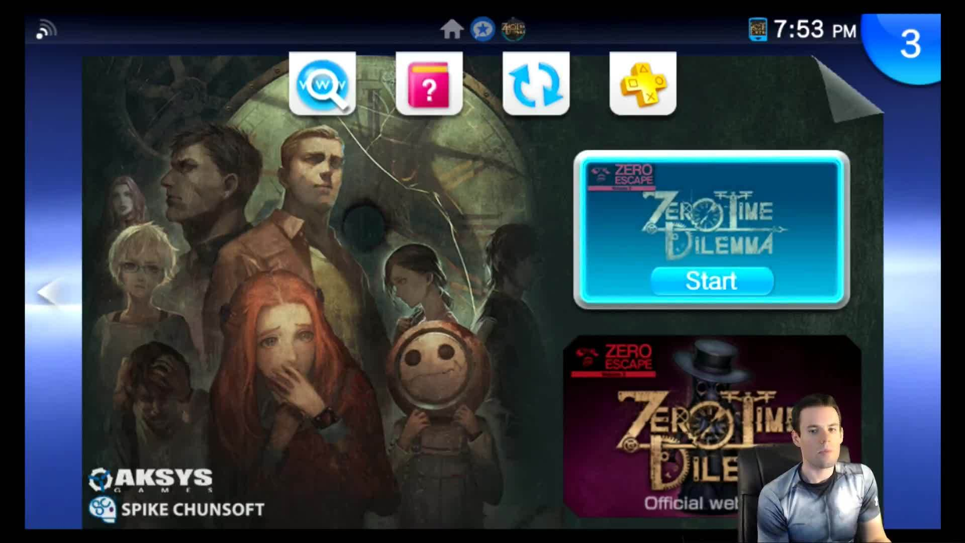 zero escape, zero time dilemma, zeroescape, Zero Time Dilemma PSTV Gameplay GIFs