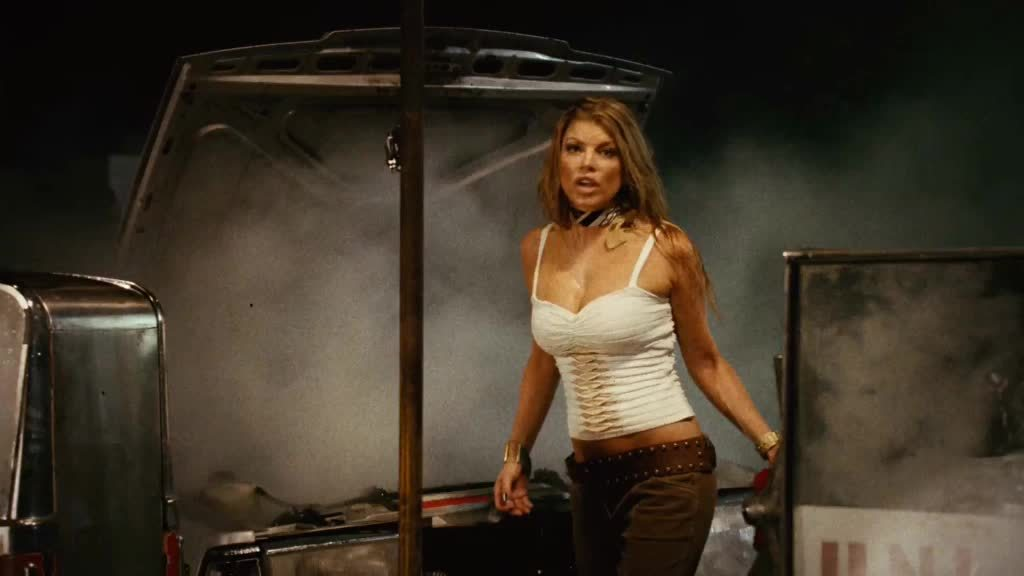 ImagesOfThe2000s, gifs, Fergie - Planet Terror [2007] GIFs
