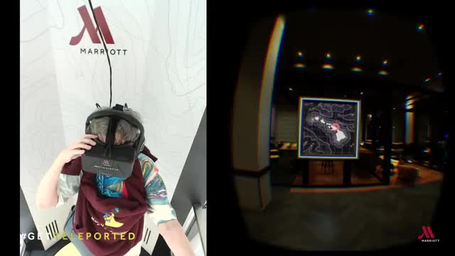 Watch and share #GetTeleported: Marriott Marquis D.C. Guest Reacts GIFs on Gfycat