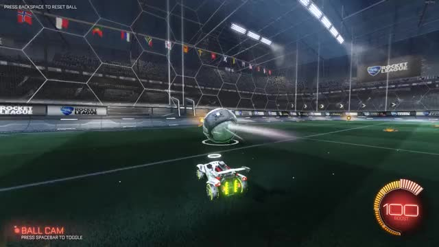 Watch and share Ceiling Wavedash Goal GIFs by shadoowner on Gfycat