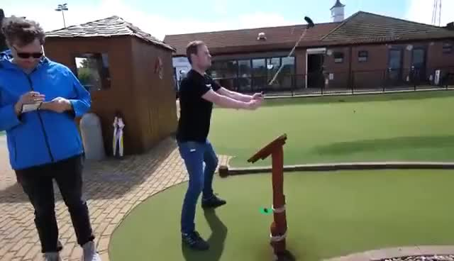 Watch and share Sips Golf Dance GIFs on Gfycat