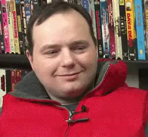 Watch and share MRW Someone Tells Me They Like Redlettermedia But Hate Rich Evans' Laugh. : Reactiongifs GIFs on Gfycat