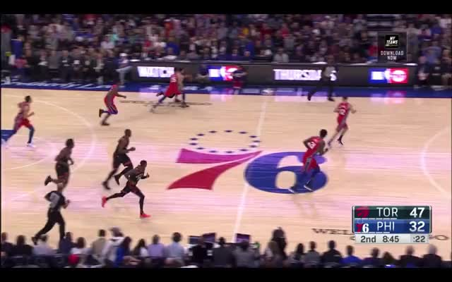Watch and share Philadelphia 76ers GIFs and Toronto Raptors GIFs by nicktussel on Gfycat