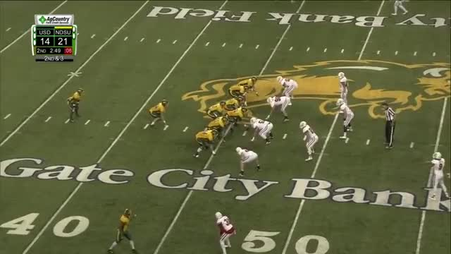 Watch Ty Brooks run vs. USD GIF by @sherder on Gfycat. Discover more College Sports, Sports, football GIFs on Gfycat