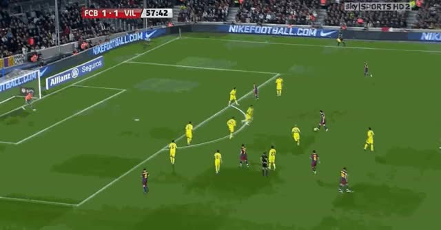 Watch and share Barcelona GIFs and Villareal GIFs by danielmops on Gfycat