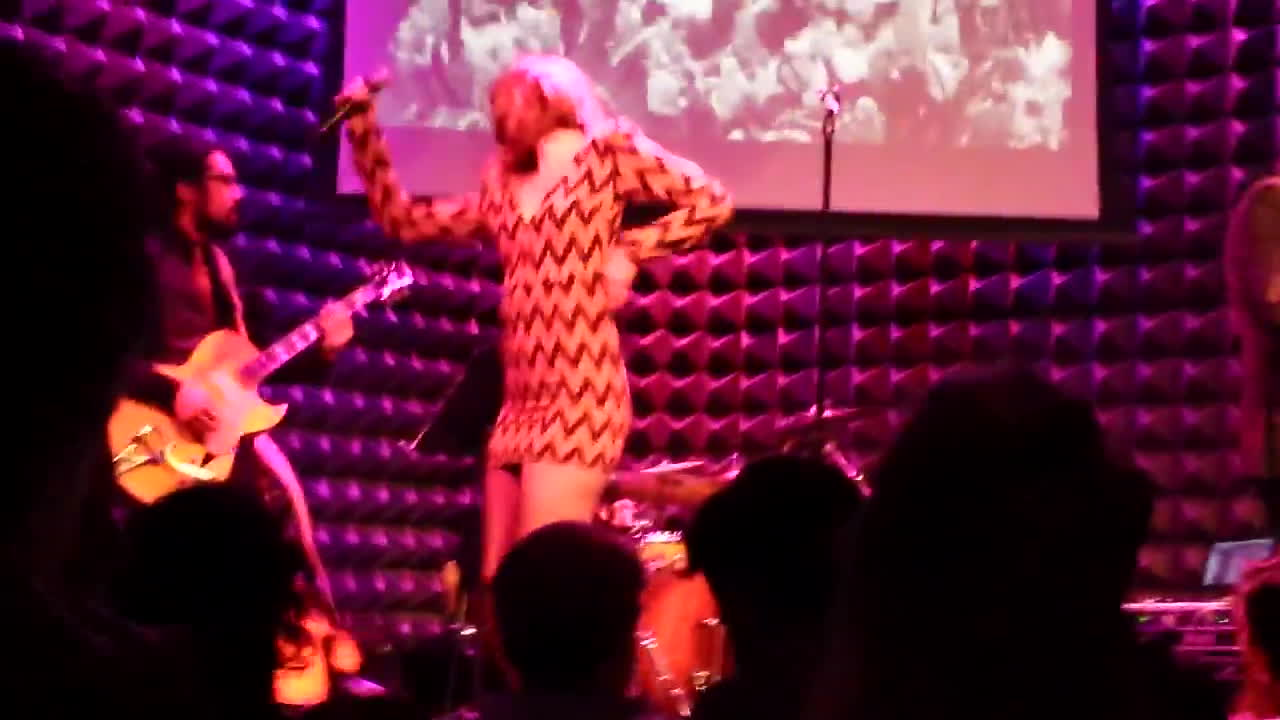 dan the automator, got a girl, mary elizabeth winstead, Got A Girl - There's A Revolution (Joe's Pub 9/26/15) GIFs