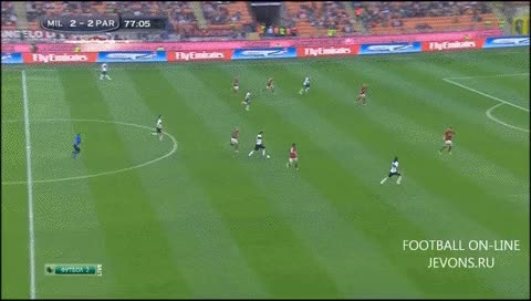 Watch and share Amauri. Milan - Parma. 16.03.2014 GIFs by fatalali on Gfycat