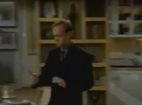Frasier: Niles Starts Fire in Apartment GIFs