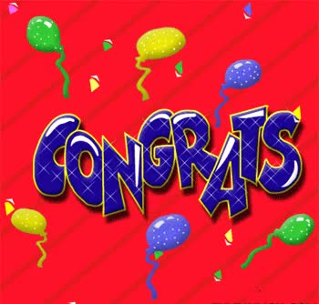 Watch and share Congratulations GIFs on Gfycat