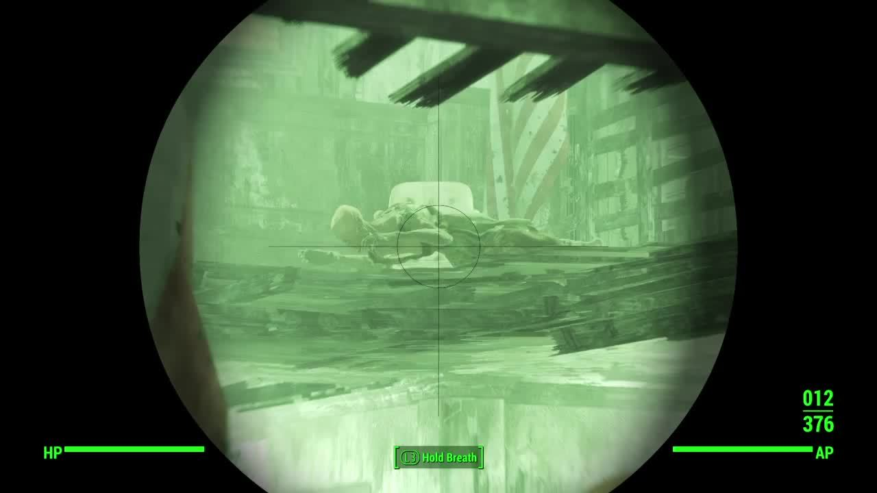 FO4 Ghoul GIFs