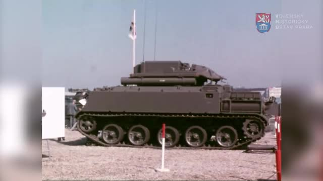 Watch and share AMX-30 Roland At Farnborough 1980 GIFs on Gfycat
