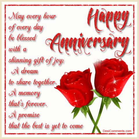 Watch and share Happy Anniversary Poem GIFs on Gfycat