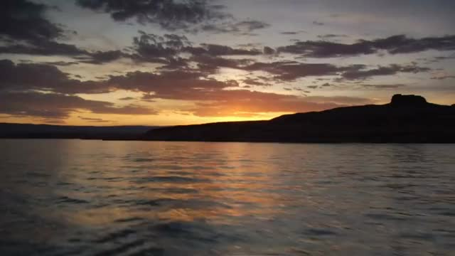 Watch and share Pov Boating Over Lake With Beautiful Sunset ByWvZZlbr GIFs on Gfycat