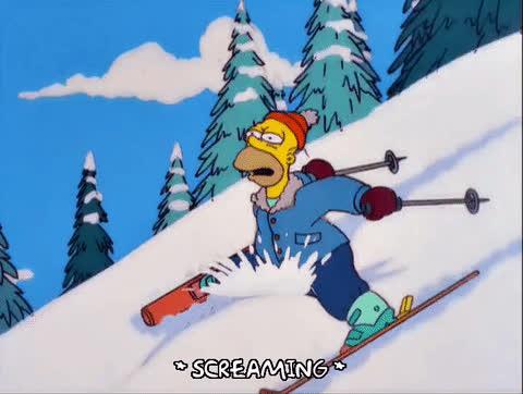 Skiing mi GIFs