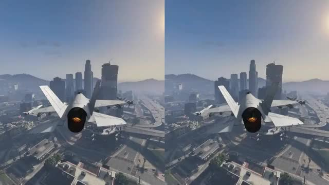 GTA 5 Flying Jet Through City GIF by (@squirrei) | Find