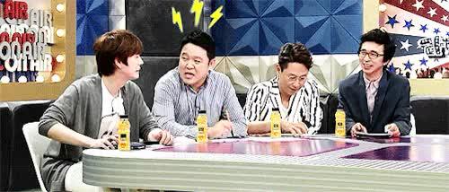 Watch and share Radio Star GIFs and Kyuhyun GIFs on Gfycat