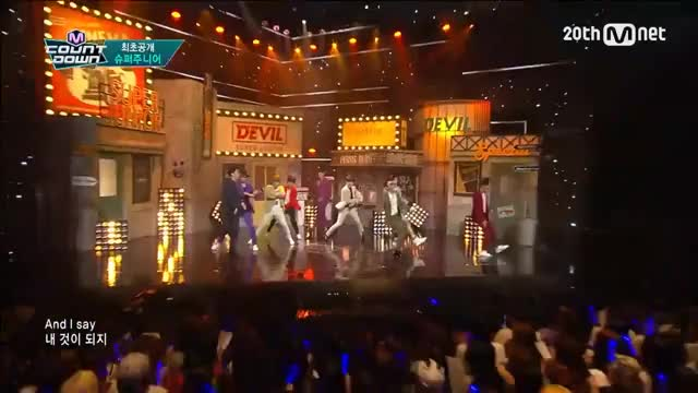 Watch Super Junior(슈퍼주니어) - 'Devil' il′ M COUNTDOWN 150716 COMEBACK Stage Ep.433 GIF on Gfycat. Discover more All Tags, Devil, GOT7, Top10, bad, comeback, debut, guhara, infinite, kara, mcd, mcountdown, mnet, no1, party, snsd, solo GIFs on Gfycat
