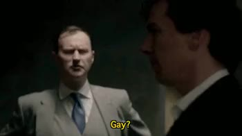 Watch and share Sherlock Holmes GIFs and Mycroft Holmes GIFs on Gfycat