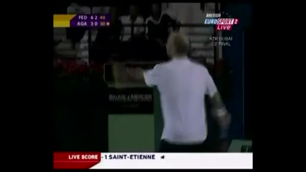 Watch and share Federer Agassi Dubai GIFs on Gfycat