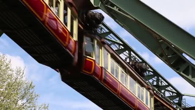 Watch and share Suspension Railway GIFs and Schwebebahn GIFs on Gfycat