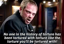 Watch Crowley + Funny Moments GIF on Gfycat. Discover more 1k, Crowley, I hope you like it anon!, My Gifs, My Stuff, Requests, Supernatural, anonymous, mooseleys, please request again if you were thinking of something else!, spnedit, thought of you! GIFs on Gfycat
