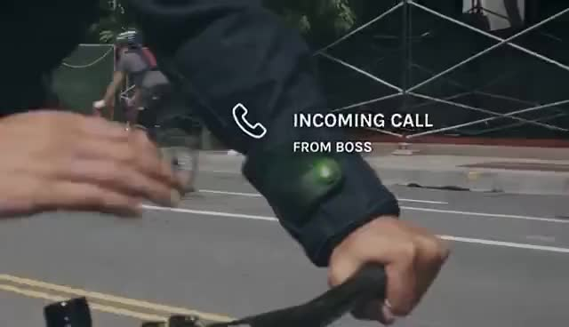 Watch and share Levi's® Commuter™ X Jacquard By Google Trucker Jacket GIFs on Gfycat