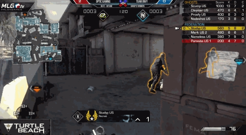 codcompetitive, opticgaming, Proofy embarrasses Studyy (reddit) GIFs