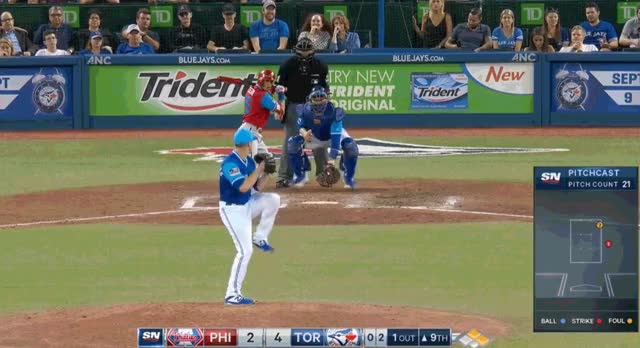 Watch and share Blue Jays GIFs and Ken Giles GIFs by Pitcher Giffer on Gfycat