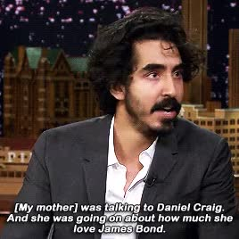Watch and share The Tonight Show Starring Jimmy Fallon GIFs and Dev Patel GIFs on Gfycat