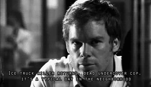 Watch and share Dexter GIFs on Gfycat