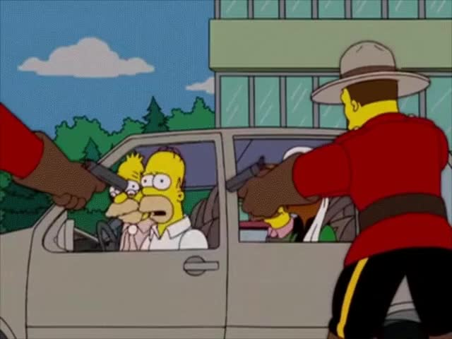 Watch Innocent Tourists GIF on Gfycat. Discover more thesimpsons GIFs on Gfycat